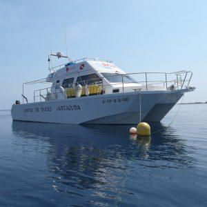 Buceo islas columbretes