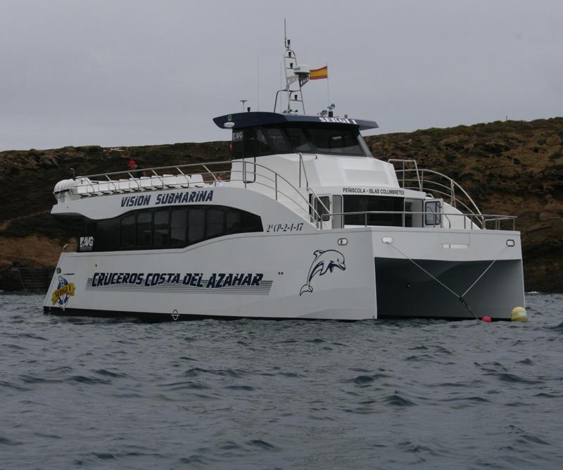 viaje islas columbretes desde peñíscola