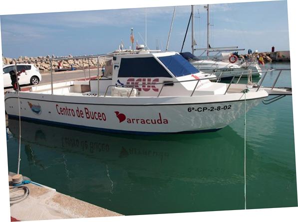 excursión columbretes barracuda cuatro