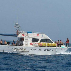 excursiones columbretes barracuda