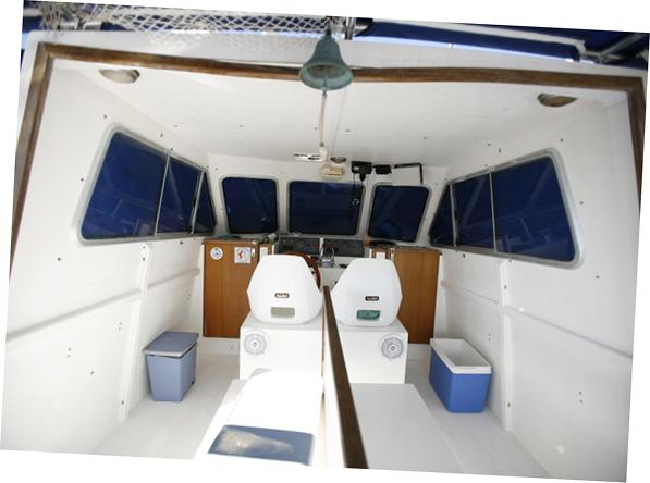 viaje columbretes barracuda cuatro